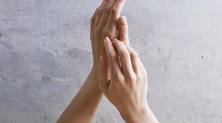 håndeksem kløe